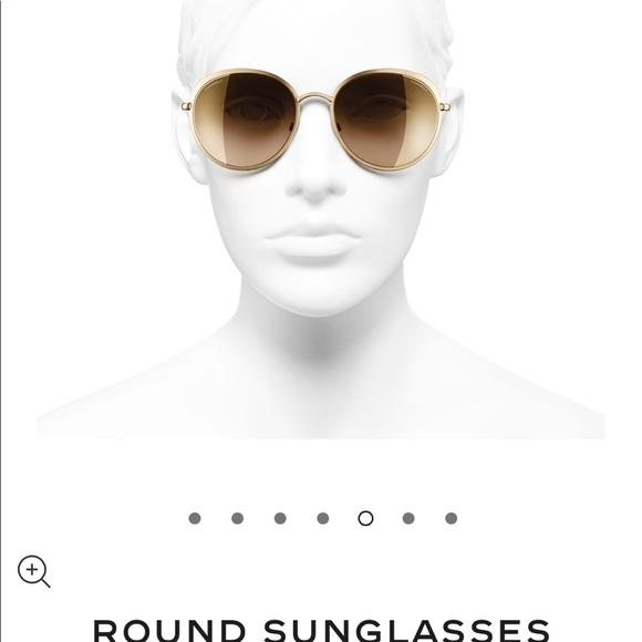 e5ba5f4b02 Chanel 4206 18kt gold sunglasses 🕶